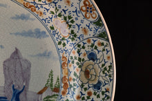 Boch Freres Faience Hand-Painted Charger