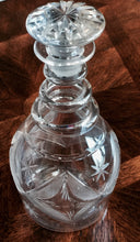 Hand-Blown Pittsburgh Glass Etched Decanter