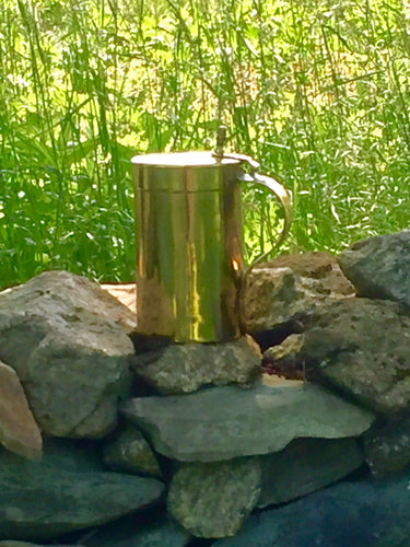 English Brass Tankard