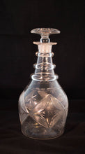 American Hand-Blown Flint Glass Decanter Early 19th Century Greenans Cottage