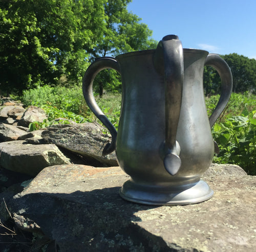 Scottish Pewter Loving Cup
