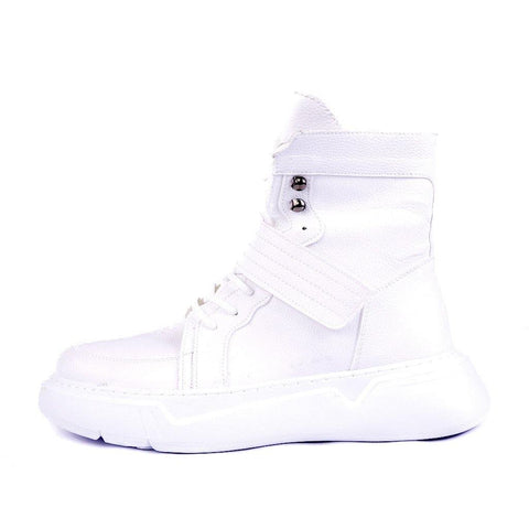 Ghete Hi-Top - Albe