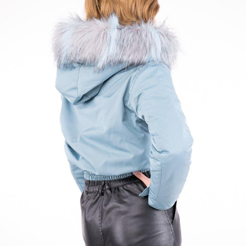 Image of Geaca SH FUR DM - Aqua