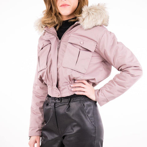 Image of Geaca SH FUR DM - Pink