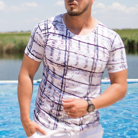Image of Tricou TOP - Alb