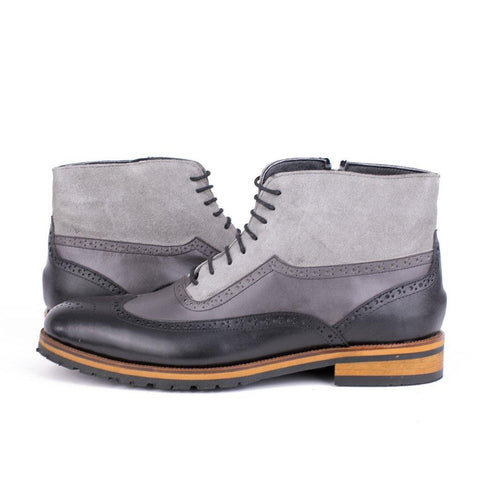 Ghete Oxford - Gri