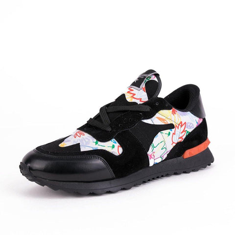 Image of Pantofi Sport - VN - Black Flower