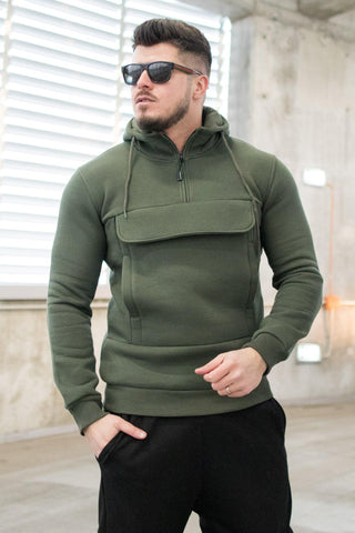 Hanorac POCKET Vatuit - Khaki