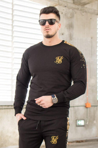 Image of Bluza SS BLACK - GOLD