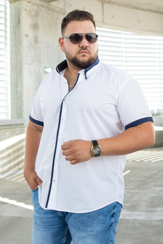 Image of Camasa Plus Size - SC WHT CMB05 - street-style-ro