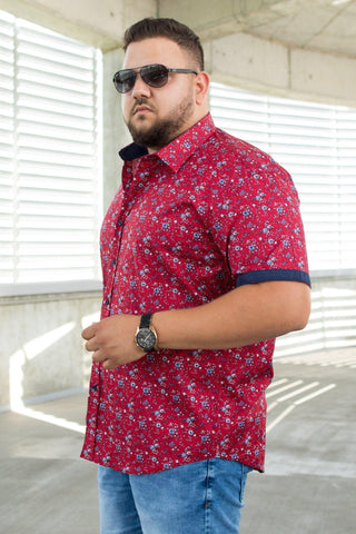 Image of Camasa Plus Size - SC GRENA CMB07 - street-style-ro