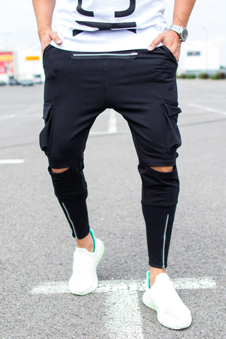 Image of Pantaloni Fashion Horizon - street-style-ro