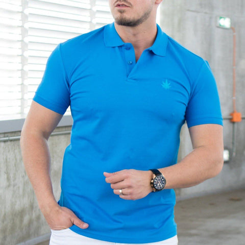 Tricou Polo MRY - Albastru Electric