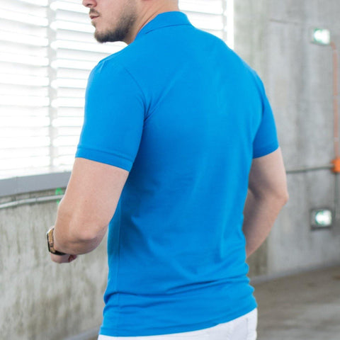Image of Tricou Polo MRY - Albastru Electric