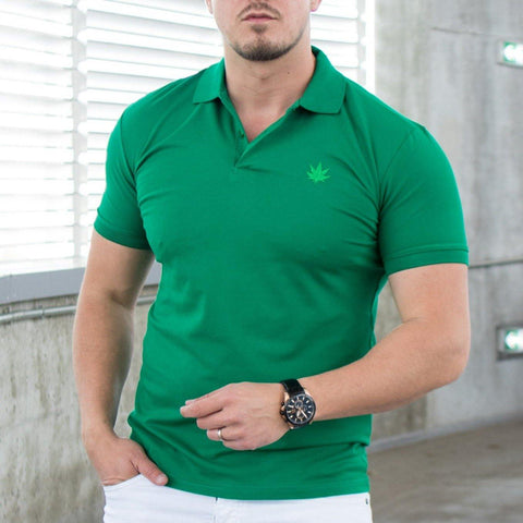 Image of Tricou Polo MRY - Verde