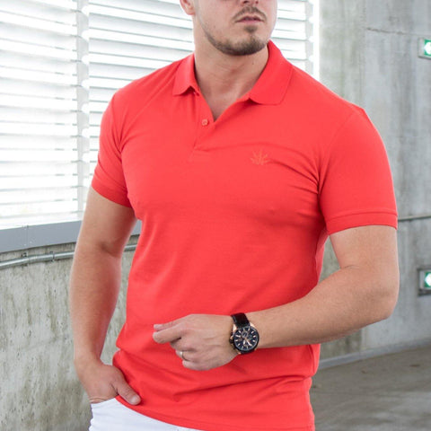 Image of Tricou Polo MRY - Coral