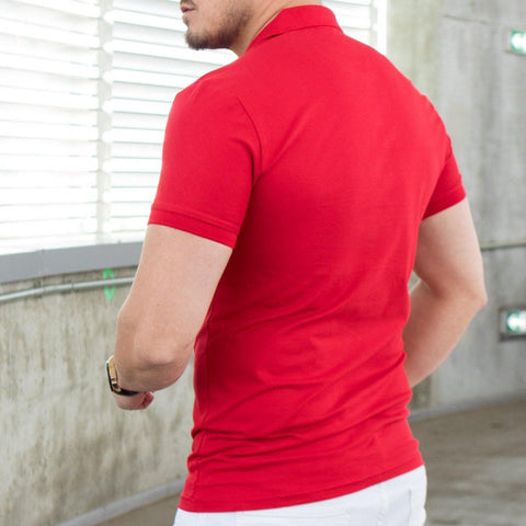 Image of Tricou Polo MRY - Rosu