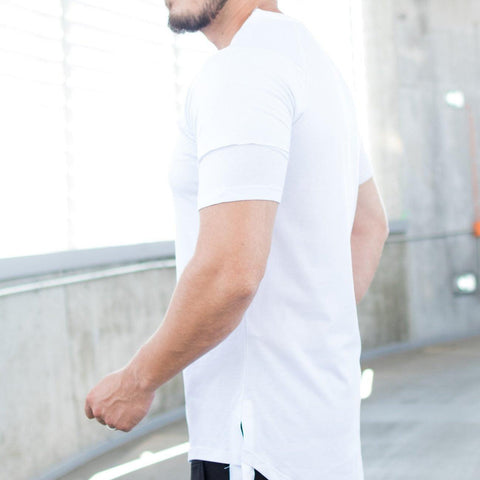 Image of Tricou Loose - Alb - street-style-ro