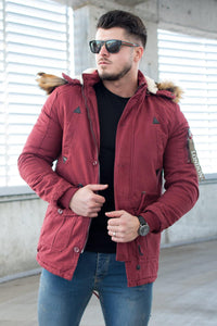 Geaca Parka PKB London - Grena