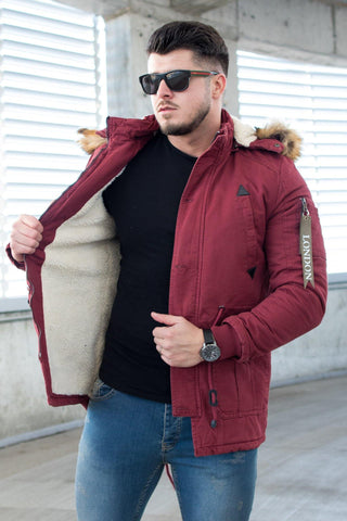 Image of Geaca Parka PKB London - Grena