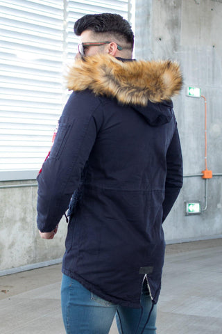 Image of Geaca Parka PKB London - Bleumarin