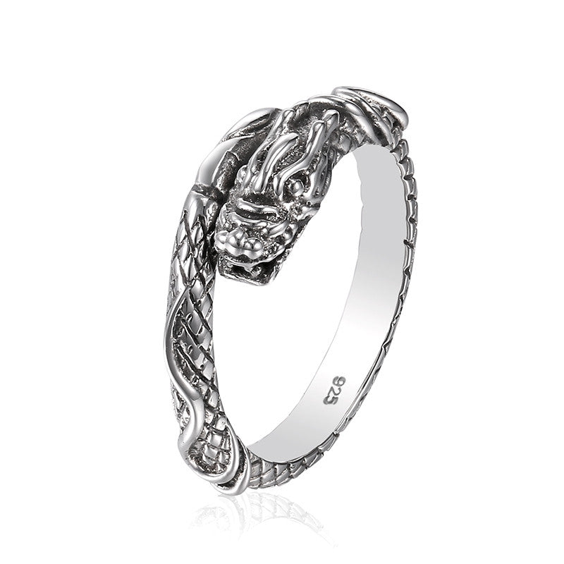 Dragon Ring made of 925 sterling silver inspired by Game of Thrones