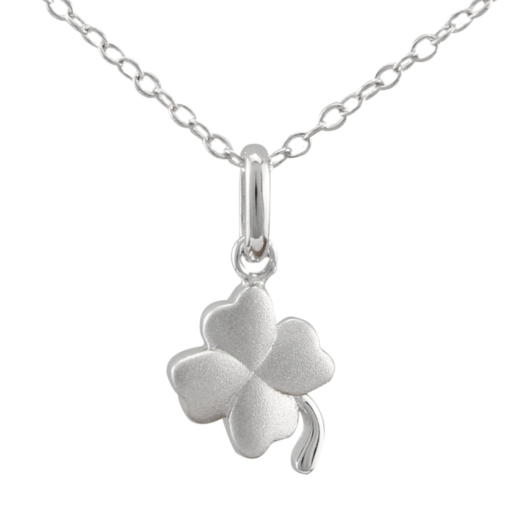 Shamrock Necklace made of authentic 925 Sterling Silver