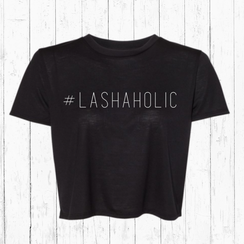#LASHAHOLIC Crop Top