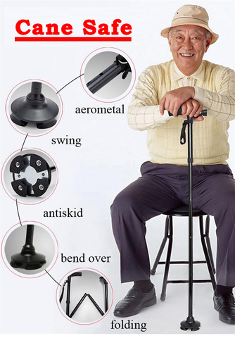 TRAPLES™ Cane Safe - Walking Stick
