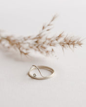 Set of 2 minimalist stacking rings
