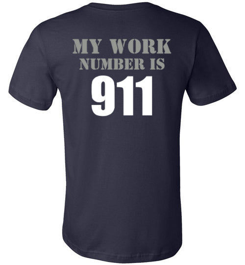 My Work Number Tee