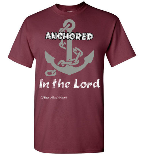 Anchored in the Lord Tee