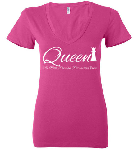 Queen Ladies V Neck