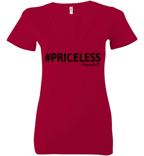 Priceless Ladies V Neck
