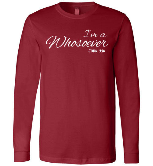 Whosoever Long sleeved tee