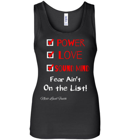 Power, Love, and Sound Mind Tank