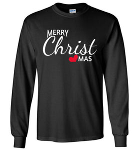 Merry CHRISTmas long sleeved