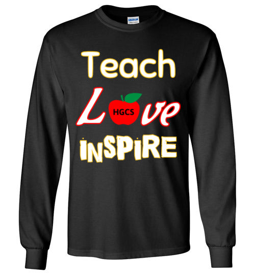 Teach Love Inspire Long Sleeved tee