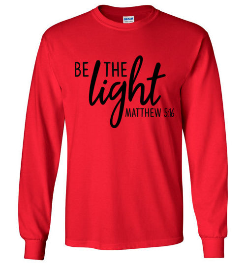 Be the Light long sleeved tee