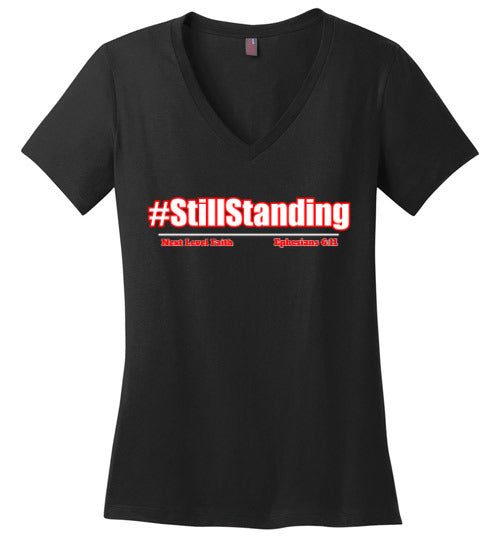 Still Standing Ladies V-Neck