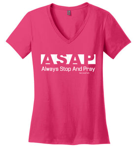 ASAP Ladies V-Neck