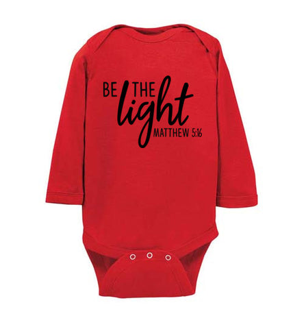 Be the Light Onesie