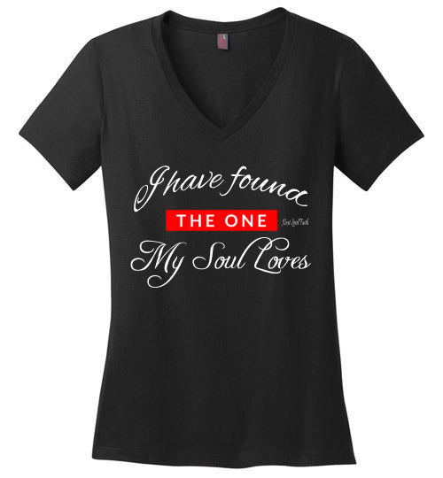 The One ladies V-Neck