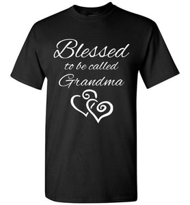 Blessed to be called Grandma classic tee