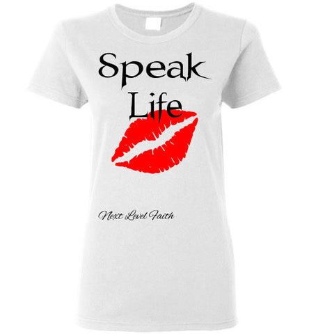 Speak Life Ladies Tee