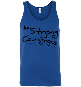 Strong and Courageous Tank