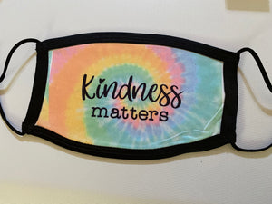 Kindness Matters Face Mask