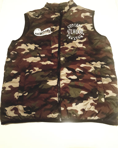SOLD OUT! ATLWOOD Unisex Camo Vest