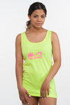Small Film Pink Logo Tank