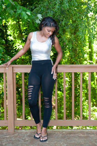 ATLWOOD Ripped Leggings